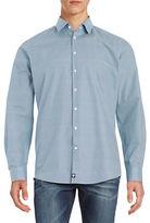 Strellson Geometric Cotton Sportshirt