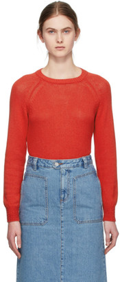 A.P.C. Red Gina Sweater