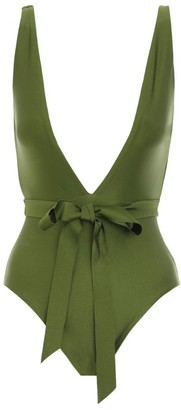 Zimmermann Empire Tie-Waist Swimsuit
