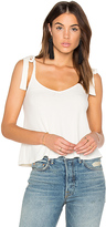 Splendid Drapey Lux Rib Tank in Ivory. - size L (also in )