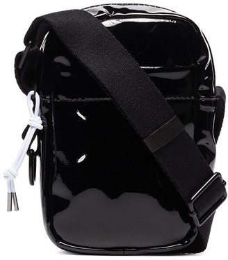 Maison Margiela Faux-Patent Leather Crossbody Bag