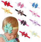 Quest Sweet 10 Pieces Baby's Headbands Girl's Headband Head Wear Flower,a Great Gift for Christmas