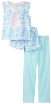 Jessica Simpson Flutter Top, Short, & Pant Pajama (Big Girls)