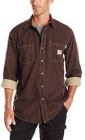 Carhartt Men's Flame Resistant Canvas Shirt Jacket