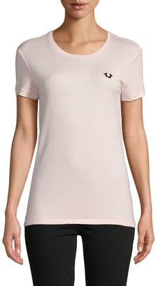 True Religion Logo Crewneck T-shirt