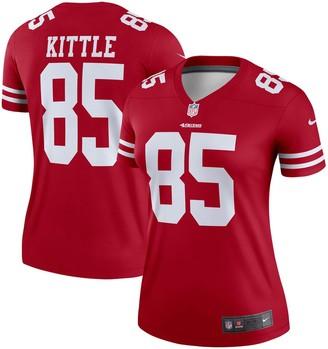 Nike Women's George Kittle Scarlet San Francisco 49ers Legend Jersey