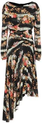 Preen by Thornton Bregazzi Frankie floral stretch-crApe dress