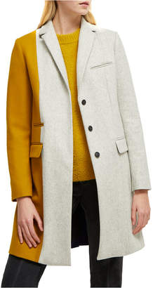 French Connection Carmelita Colorblocked Coat