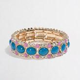 J.Crew Factory Factory dotted oval stretch bracelet