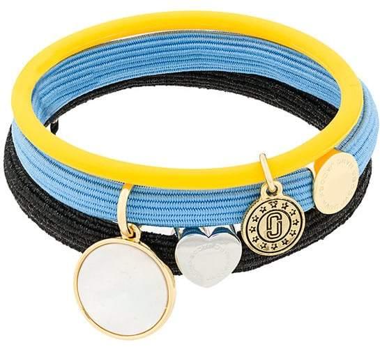 Marc Jacobs medallion pony bracelet set