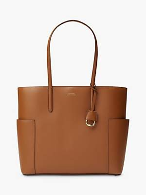 Ralph Lauren Ralph Dryden Carlyle 36 Leather Tote Bag