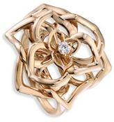 Piaget Rose Diamond & 18K Rose Gold Dentelle Ring