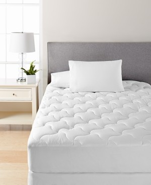Quilted California King Mattress Pad by Martha Stewart Collection, Created for Macy's Bedding