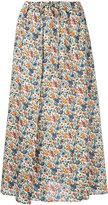 CITYSHOP floral midi skirt - women - Cotton/Polyester - 36