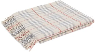 Burberry Checked Flannel Blanket
