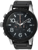 Nixon The 51-30 Chrono X The Brush Steel Collection