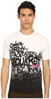 DSQUARED2 All Over DS2 Graffiti T-Shirt