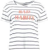 Even&Odd Print Tshirt white