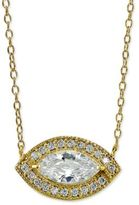 Giani Bernini Sterling Silver Cubic Zirconia Pendant Necklace, Only at Macy's
