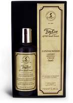Mens Taylor Of Old Bond Street Sandalwood Travel Gift Set