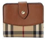 Burberry Horseferry Check Leather Wallet.