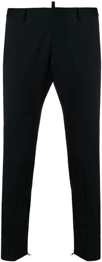 DSQUARED2 tailored zipped trousers