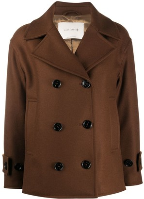 MACKINTOSH Creetown double-breasted coat
