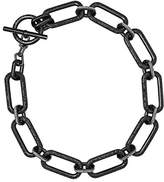 "Michael Kors Brilliance"" Iconic Links IP Statement Link Pendant Necklace"