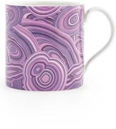 Jonathan Adler Purple Malachite Carnaby Porcelain Mug