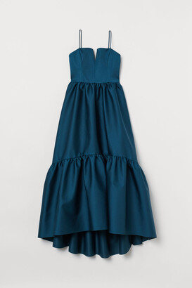 H&M Dress with Train - Turquoise