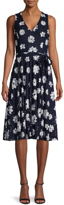 Tommy Hilfiger Moody Floral-Print Dress