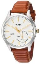 Timex IQ+ Move Leather Strap