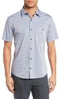 Maker & Company Men's Regular Fit Print Short Sleeve Sport Shirt