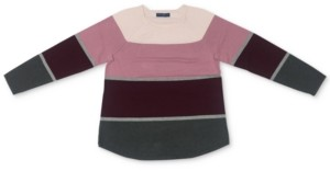 Karen Scott Petite Cotton Colorblocked Sweatshirt, Created for Macy's