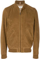 A.P.C. zipped bomber jacket