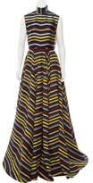 Emilia Wickstead Dorothea Striped Gown