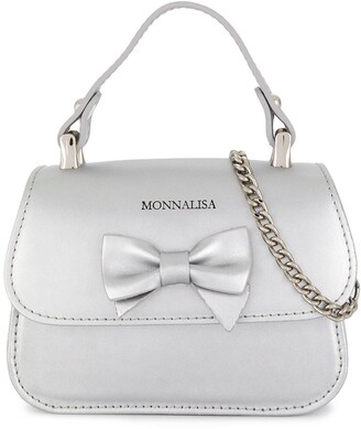 MonnaLisa Small Bow Detail Tote Bag
