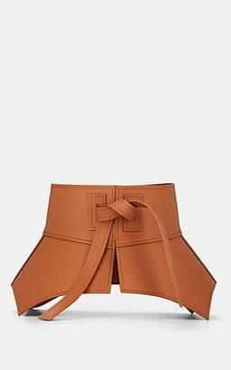 Loewe Women's Obi Leather Waist Belt - Beige, Tan