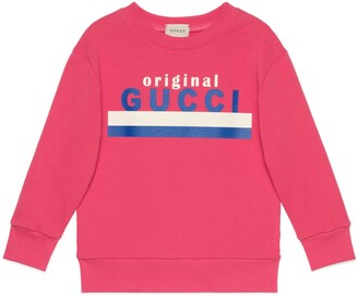 "Gucci Children's ""Original print sweatshirt"
