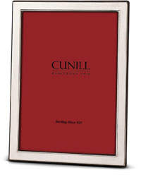 """Cunill America Contemporary Plain Sterling Silver Picture Frame - 5"""" x 7"""""""