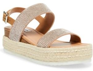 Steve Madden Women's Catia-r Flatform Espadrille Sandals