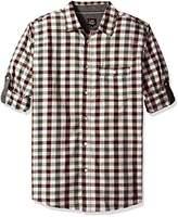Lee Men's Long Sleeve Stretch Button-Down Shirt