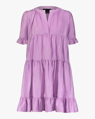 Cynthia Rowley Kaia Tiered Mini Dress