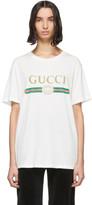 Gucci White Vintage Logo T-Shirt