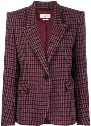 Etoile Isabel Marant Structured Check Blazer