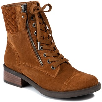 Lucca Lane Cailyn Lace-Up Combat Boot
