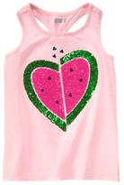 Crazy 8 Watermelon Heart Tank