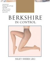 Berkshire Women's Silky In Control Tummy and Thigh Shaping Pantyhose with Toe
