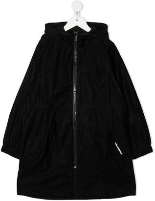 Karl Lagerfeld Paris Hooded Windbreaker Coat