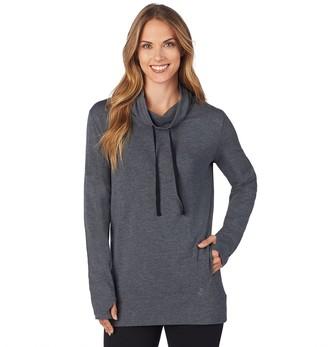 Cuddl Duds Women's Comfortwear Long Sleeve Tunic Top